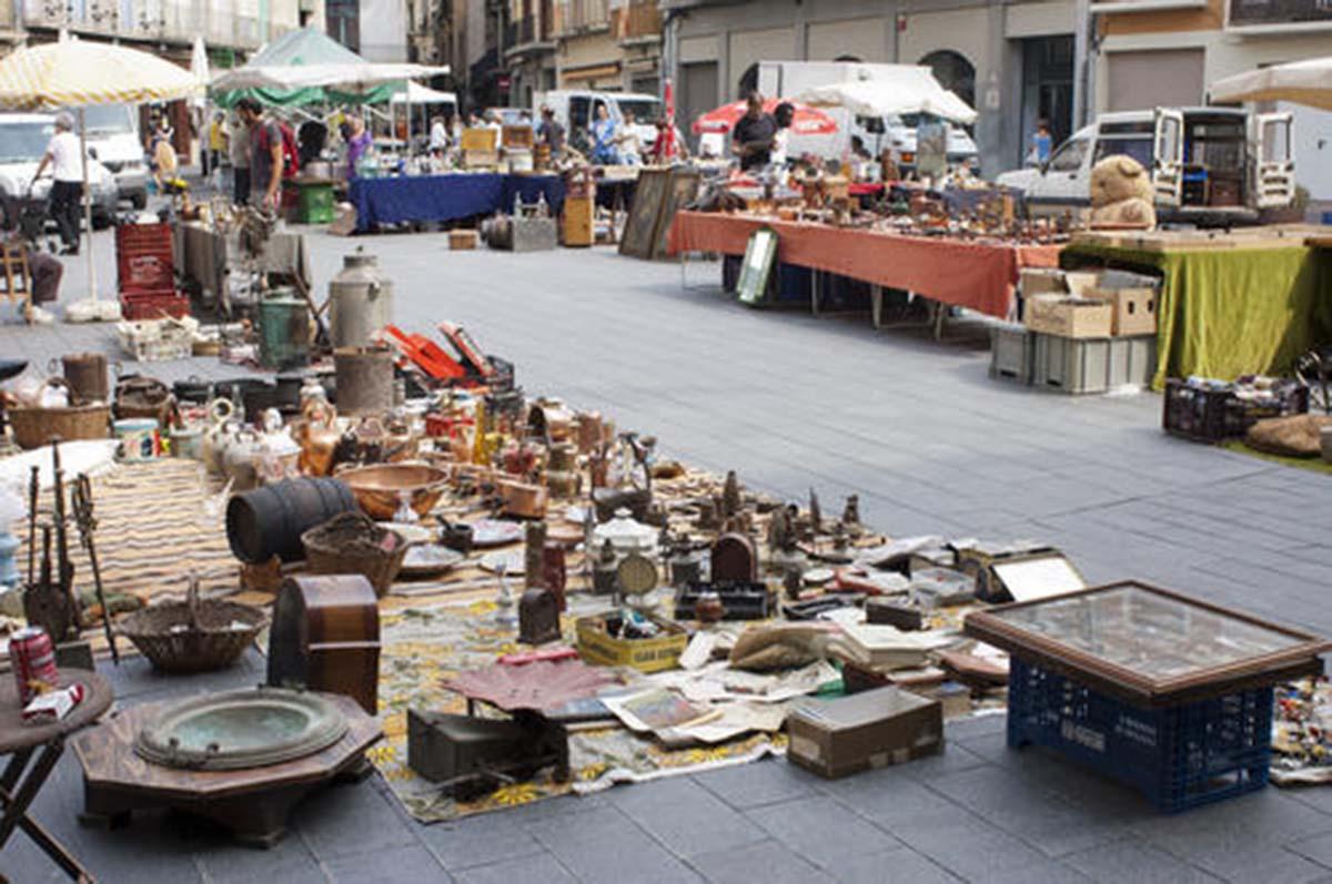 20120927 mercat de brocanters a la pl major