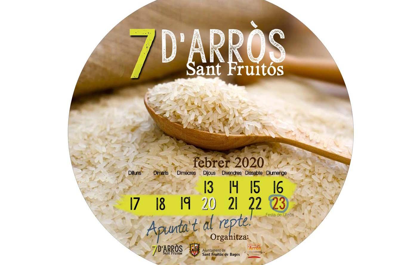 7 d'arròs