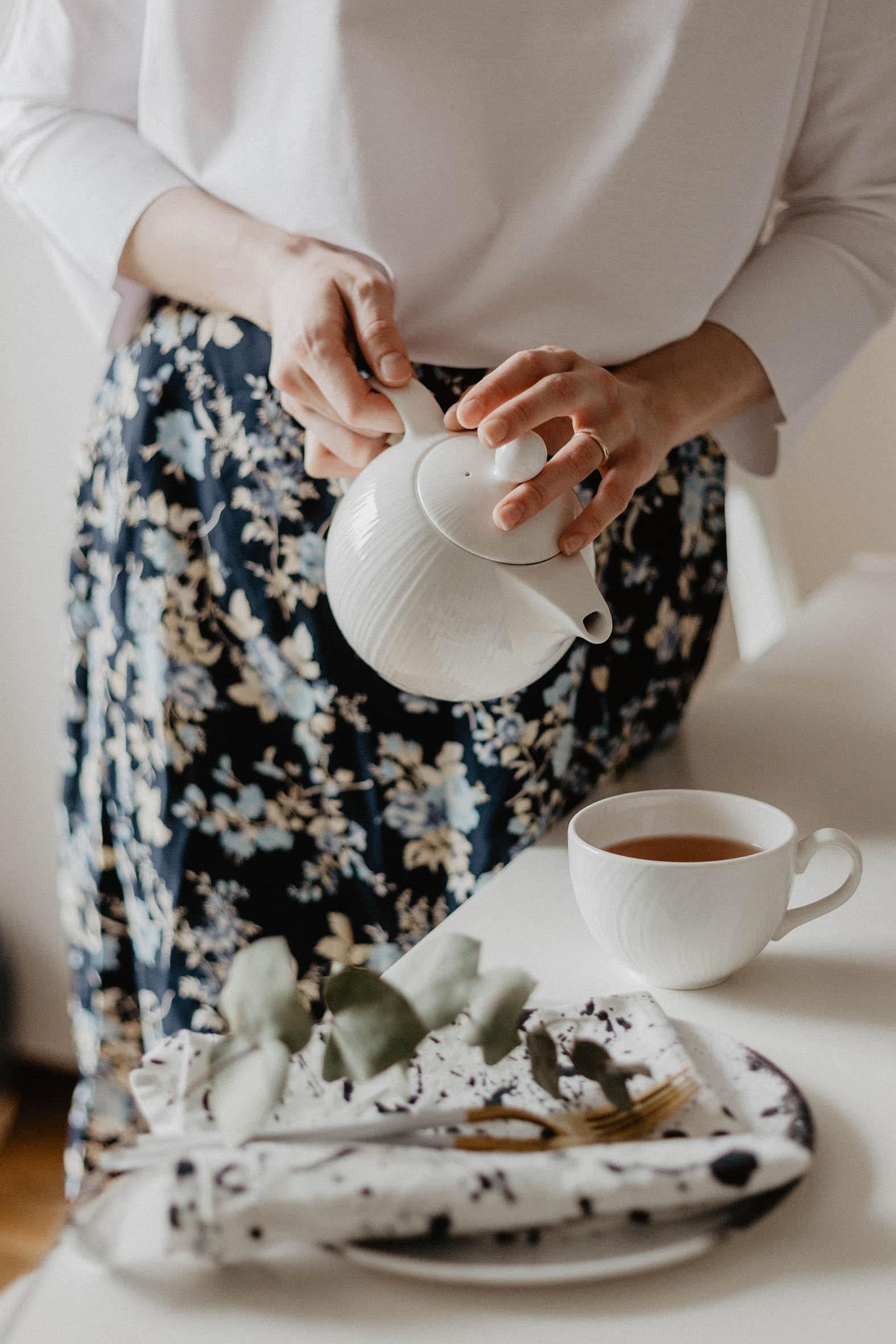 Empieza el día con un té